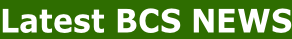 Latest BCS NEWS